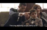 Ronaldo dạy con trai chào hỏi Messi