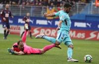 Highlights: Eibar 0-2 Barcelona (Vòng 24 La Liga)