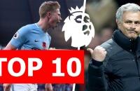 Top 10 con số thú vị Premier Leaegue 2017/18