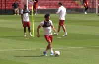 Những khoảnh khắc ấn tượng nhất của Mohamed Salah trong các buổi tập
