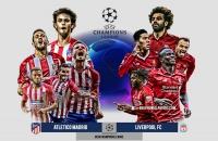 Thống kê: Atletico Madrid vs Liverpool