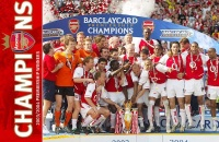 Arsenal vô địch trên sân White Hart Lane