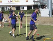Dàn sao Roma căng thẳng trước trận chiến với Chelsea