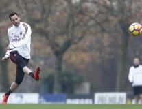 Không khí ảm đạm tại buổi tập của AC Milan