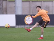 Các chân sút Roma 'lên nòng', sẵn sàng đại chiến với Inter