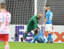 Đánh bại RB Leipzig, Napoli vẫn bị loại đau đớn