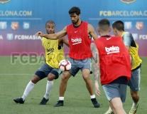 Andre Gomes vẫn tập luyện cật lực dù được Arsenal để ý