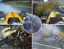 Rosberg thắng chặng đua toàn sự cố và tại nạn tại nước Bỉ