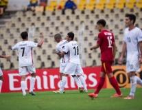 U16 Iran 5-0 U16 Việt Nam (Tứ kết U16 châu Á 2016)