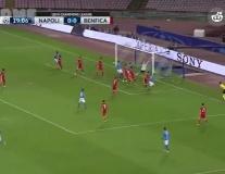 Napoli 4 - 2 Benfica (vòng bảng Champions League)