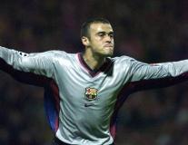 Luis Enrique từng ghi siêu phẩm hạ gục Arsenal