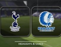 Tottenham vs Gent (lượt về vòng 32 đội Europa League)