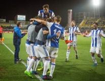 Chùm ảnh: Nhọc nhằn đánh bại Las Palmas, Sociedad phả hơi nóng vào Atletico