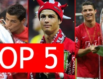 Top 5 điều thú vị về Ronaldo tại Man United