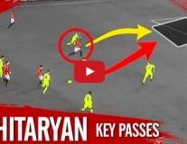 Những đường chuyền cực đỉnh của Henrikh Mkhitaryan từ đầu mùa