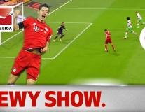 Robert Lewandowski ghi 5 bàn/9 phút cực đỉnh