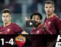 Pescara 1 - 4 Roma (vòng 33 Serie A)