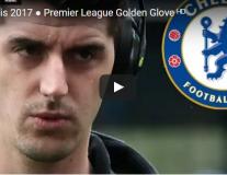 Thibaut Courtois - Găng tay vàng Premier League 2016/17