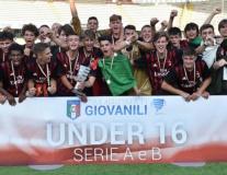 Hạ gục Roma, U16 Milan vô địch giải trẻ Serie A