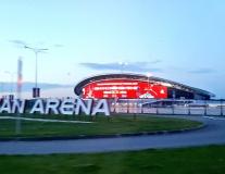 Nga đến Kazan trong thời tiết âm u