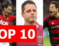 Top 10 sự thật khó tin về Javier 'Chicharito' Hernández