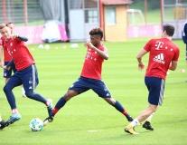 Bayern Munich tích cực tập luyện, chờ chinh phạt Bundesliga