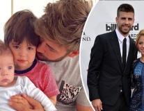Bỏ bê chồng con, Pique sống ly thân Shakira