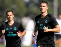 Dàn sao Real tập nhẹ chờ chuyến làm khách trước Dortmund