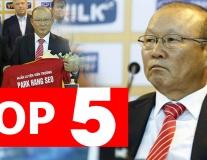 Top 5 điều thú vị về HLV Park Hang Seo