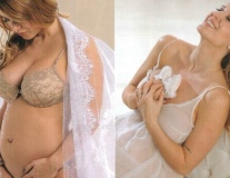Jesica Cirio và những hình ảnh đầy gợi cảm khi mang thai