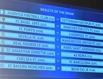 Kết quả 8 cặp đấu của vòng 16 đội Champions League