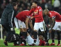 Lingard phát hoảng với chấn thương đầu của Rojo