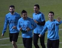 Gạt bỏ tin đồn, Ronaldo rạng rỡ chuẩn bị cho trận chung kết FIFA Club World Cup
