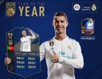 Đội hình FIFA 18 của năm: Không Neymar, có De Gea; CR7 số 1