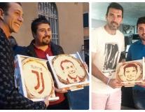 Sao Juventus đổ xô làm 'Gương mặt thương hiệu' cho pizza