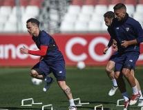 Miệt mài tập luyện, Sevilla quyết tạo địa chấn trước Man Utd