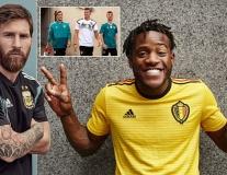 Adidas tung loạt áo đấu ĐTQG ở World Cup, Argentina lần đầu diện 'cây đen'
