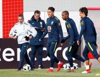 Dàn sao Ngoại hạng Anh hội tụ tại Moscow cùng tuyển Brazil