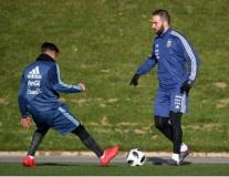 Higuain luyện tập hăng say, chờ ngày phá lưới Buffon