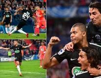 Mbappe lập cú đúp, PSG hướng tới cú ăn ba