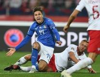 Thua trận, cầu thủ Ba Lan còn mất điểm trầm trọng vì hành động này trước Italia