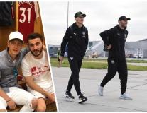Ozil - Kolasinac: Đôi bạn 'dính như sam' tại Arsenal
