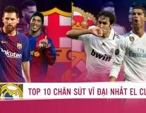 Top 10 chân sút vĩ đại nhất lịch sử El Clásico