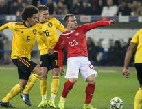 Túm áo lộ liễu, 'đầu xù' của tuyển Bỉ vẫn không cản được sự thăng hoa của Shaqiri