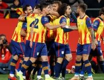 Pique tỏa sáng, tuyển Catalunya thắng đội vừa hạ Argentina của Messi