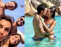 Bộ đôi của Napoli bất ngờ hẹn hò ở đảo Sardegna