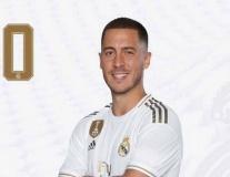 Bạn biết lý do vì sao Hazard khoác số áo cực lạ ra mắt Real chưa?