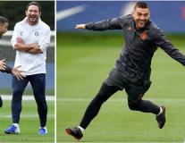 Lampard cùng các học trò 'cực sung' trước cuộc đối đầu Valencia