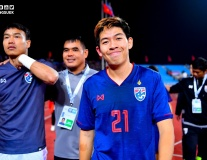 Cầu thủ Thái Lan cười tươi, mừng như 'trẩy hội' khi hòa Việt Nam