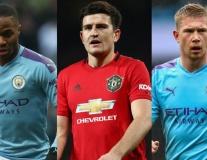 Đội hình kết hợp Man City và Man Utd: Bộ đôi Silva; Sát thủ Quỷ đỏ